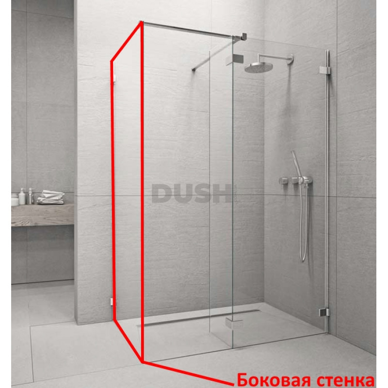 Бокова стінка Radaway Euphoria Walk-in III (383121-01-01)