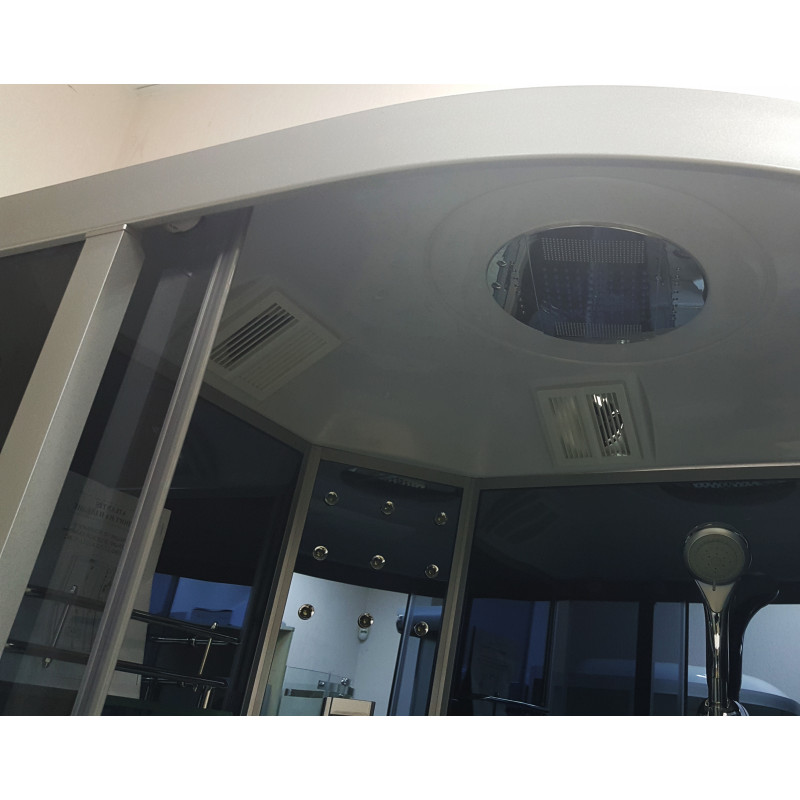 Гідромасажна кабіна Atlantis AKL 1110B L GR 110х82х220