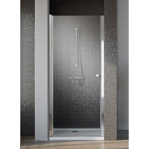 Орні двері в нішу Radaway Eos DWJ 90 (890-910x1970) прозора / хром (37903-01-01N)