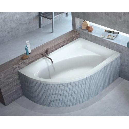 Ванна RADAWAY MISTRA 150x100 + ножки  (WA1-07-150x100P) правая