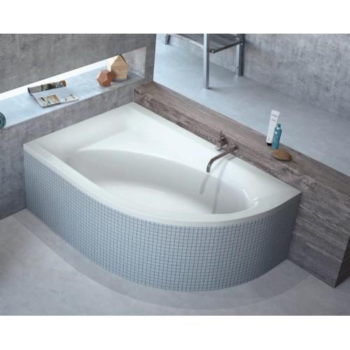 Ванна RADAWAY MISTRA 150x100 + ножки  (WA1-07-150x100L) левая