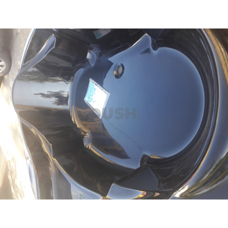 Ванна Artel Plast Злата чёрный цвет 136х136х47