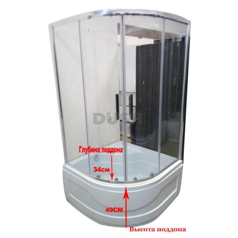 Душевая кабина VERONIS KV-3-80 80х80х195 прозрачное стекло