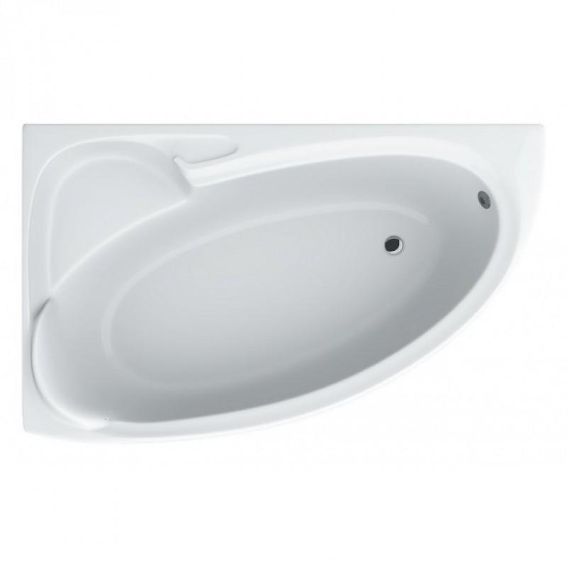 Ванна асимметричная Bianca левая 155х95х39