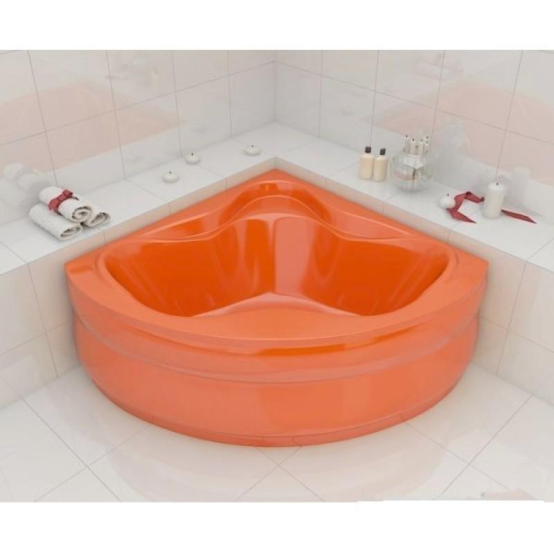Ванна Artel Plast Злата оранжевый цвет 136х136х47
