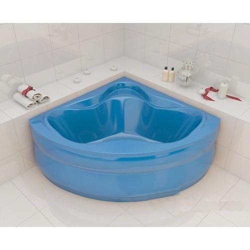 Ванна Redokss San Cesena голубой цвет 136х136х47