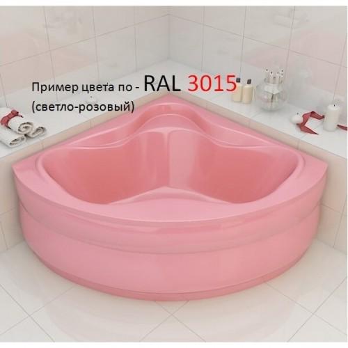 Ванна Redokss San Cesena розовый цвет 136х136х47