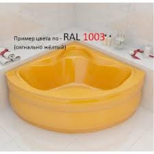 Ванна Redokss San Cesena жёлтый цвет 136х136х47