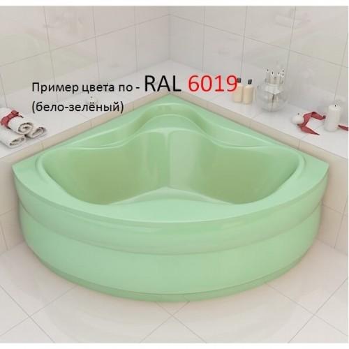 Ванна Redokss San Cesena бело-зеленый цвет 136х136х47