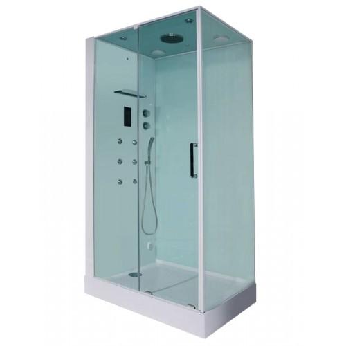 Гідромасажний паровий душовий бокс Orans SR-86120BLS 120х90х220 лівобічний