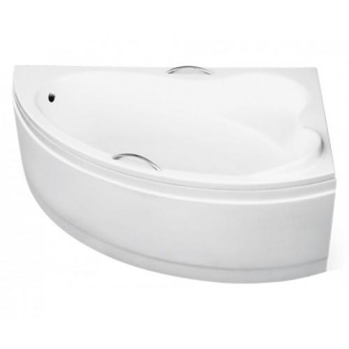 Ванна акриловая besco ADA 160х100 правая без панели и ножек с отверстиями под ручки