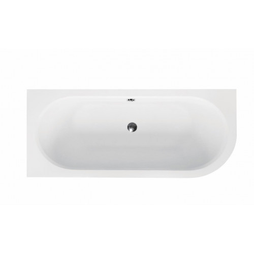Ванна акриловая besco BESCO AVITA 150Х75 левая (соло) без ног