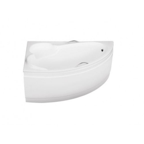 Ванна акриловая BESCO BIANKA 150Х95 левая без панели (соло) с отверстием под ручки без ручек