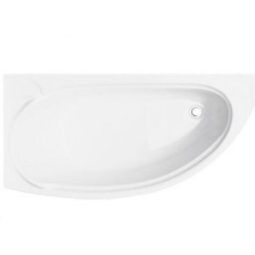 Ванна акриловая BESCO MINI 150x70 левая (соло) без ножек
