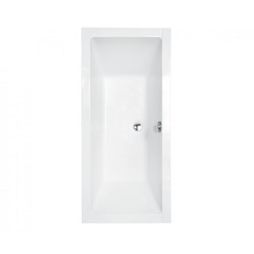 Ванна акриловая BESCO QUADRO 155х70 без ножек, без отверстий под ручки, без ручек