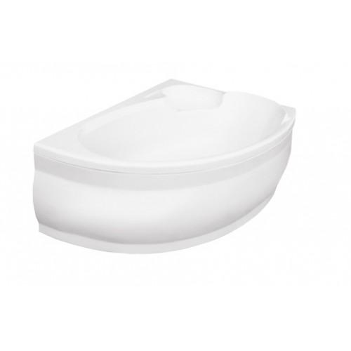 Ванна акриловая BESCO WENUS FINEZJA 140х95 правая (соло) без ножек и панели