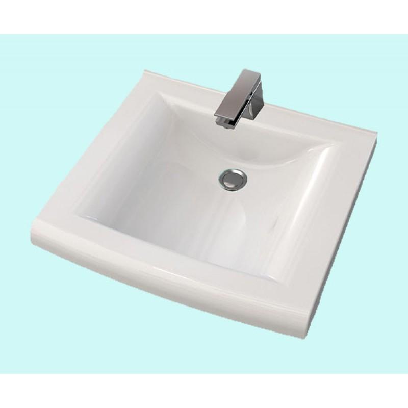Умывальник акриловый ARTEL PLAST APR 003 - 14 белый  56х53х13