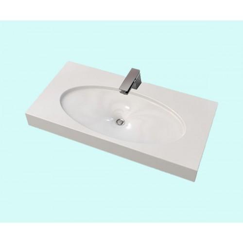 Умивальник акриловий ARTEL PLAST APR 004 - 14 білий 100x50x7