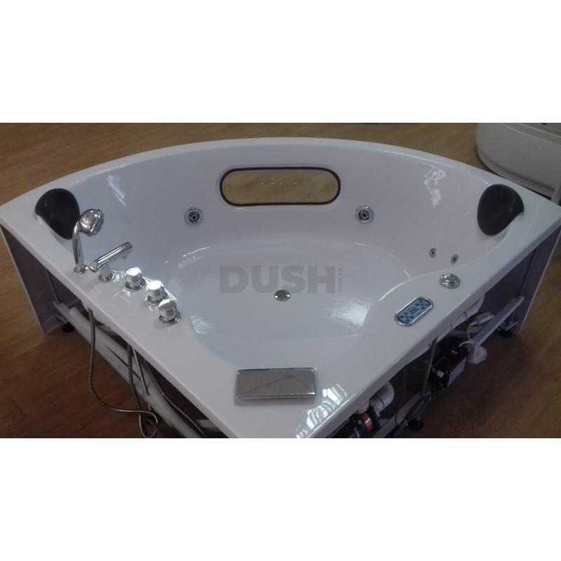 Ванна SANSA 155x155 с гидромассажем Угловая