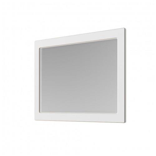 Зеркало Беатриче 100 см белый платина золото