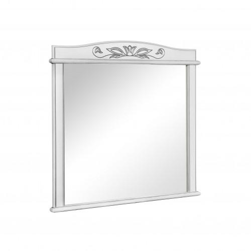 Зеркало Микела 100 см белое