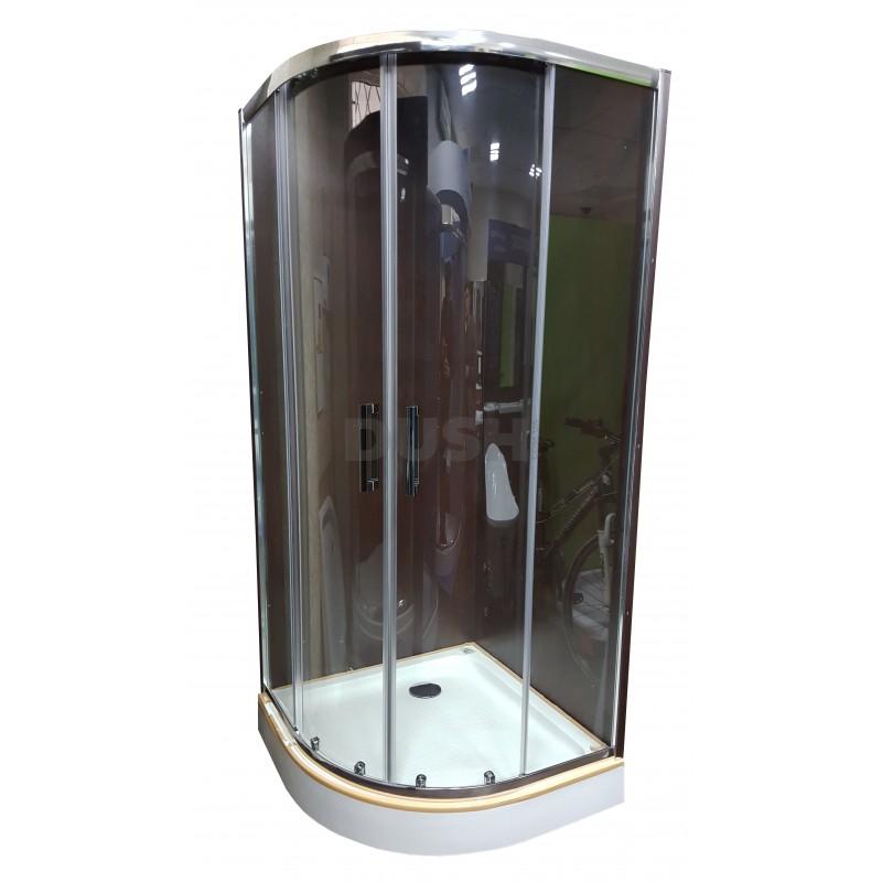 Душевая кабина Veronis KN-3-90 PREMIUM 90х90х204 прозрачное стекло