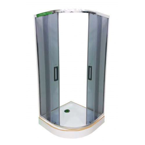 Душевая кабина Veronis KN-3-90 тонированное стекло без поддона 90х90х180