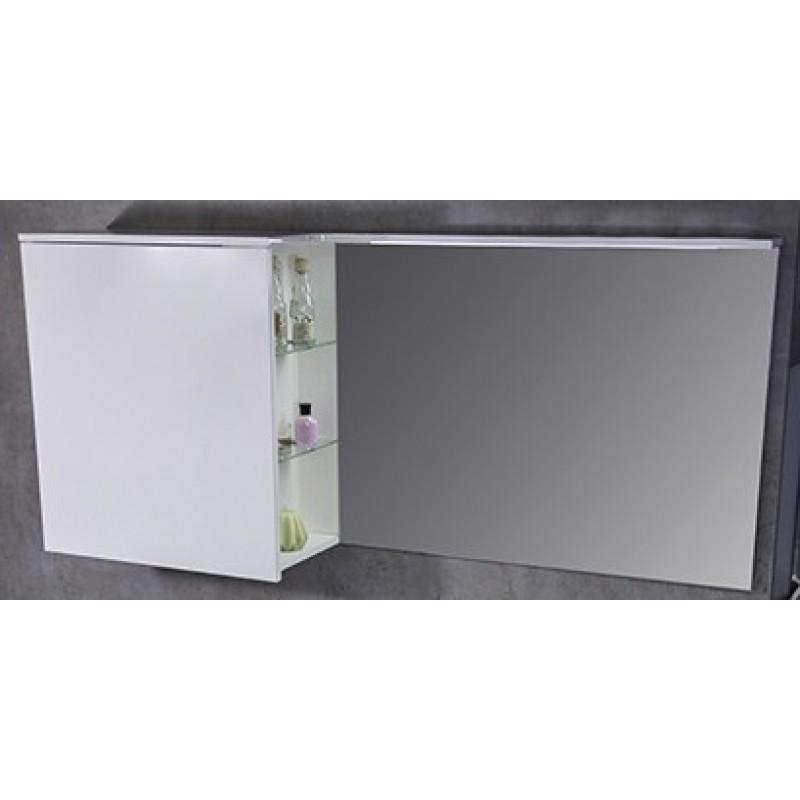 Зеркальный шкафчик Vivara правый 1250 мм под заказ