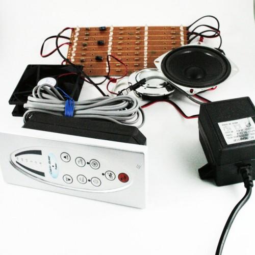 Пульт для душового боксу кнопковий з радіо і телефоном. (Повна комплектація)