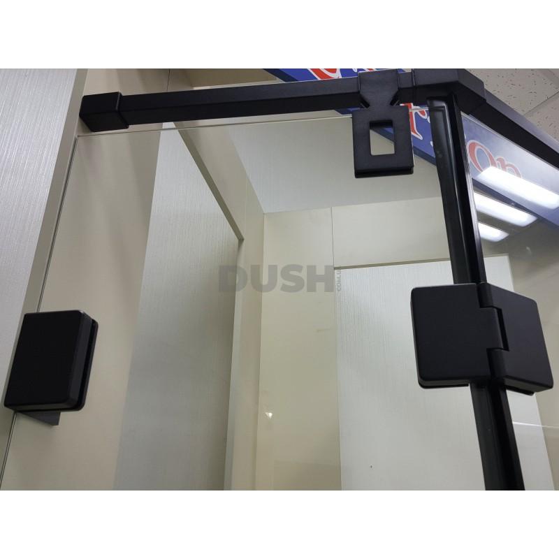 Душевая кабина VERONIS KN-10-90 black 90х90х195 без поддона