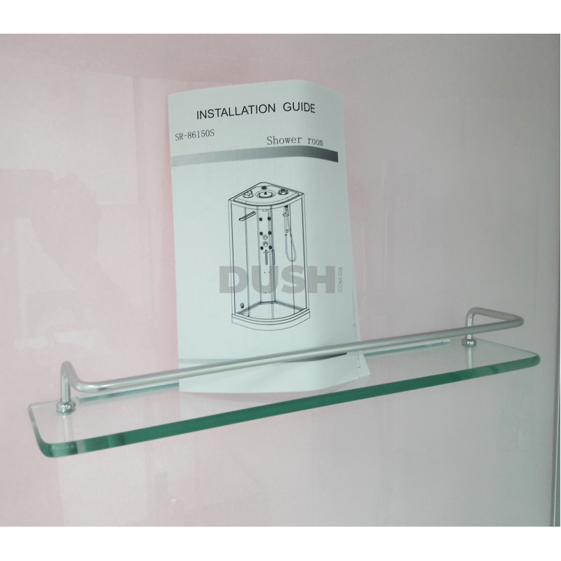 Паровой гидромассажный Душевой бокс ORANS SR-86150S (безсиликоновая сборка)