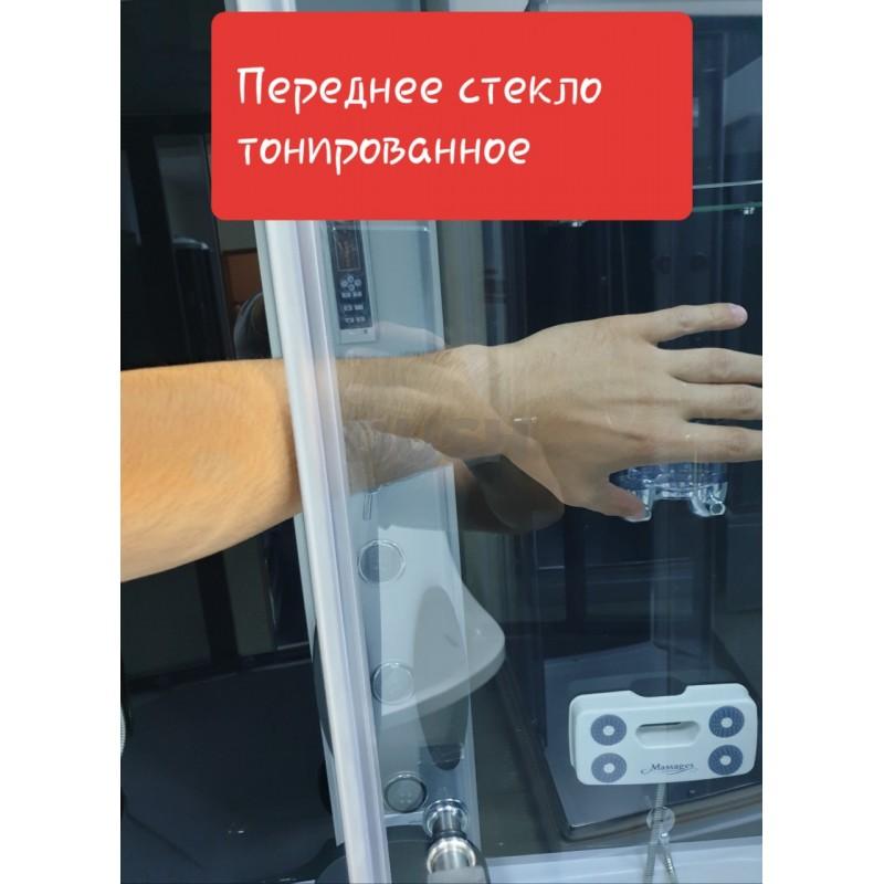 Душевой бокс VERONIS BN-5-120 левый GR (передние стекла тонированные) 120х80х220