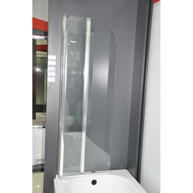 Душевая шторка на ванну Vilarte SC-100 140x100 (Польша)