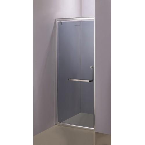 Душові двері Aquastream Door 80 графіт (тонована)