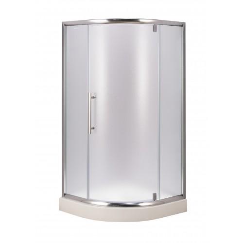 Душевая кабина AquaStream Premium 90 L C распашная дверь прозрачная