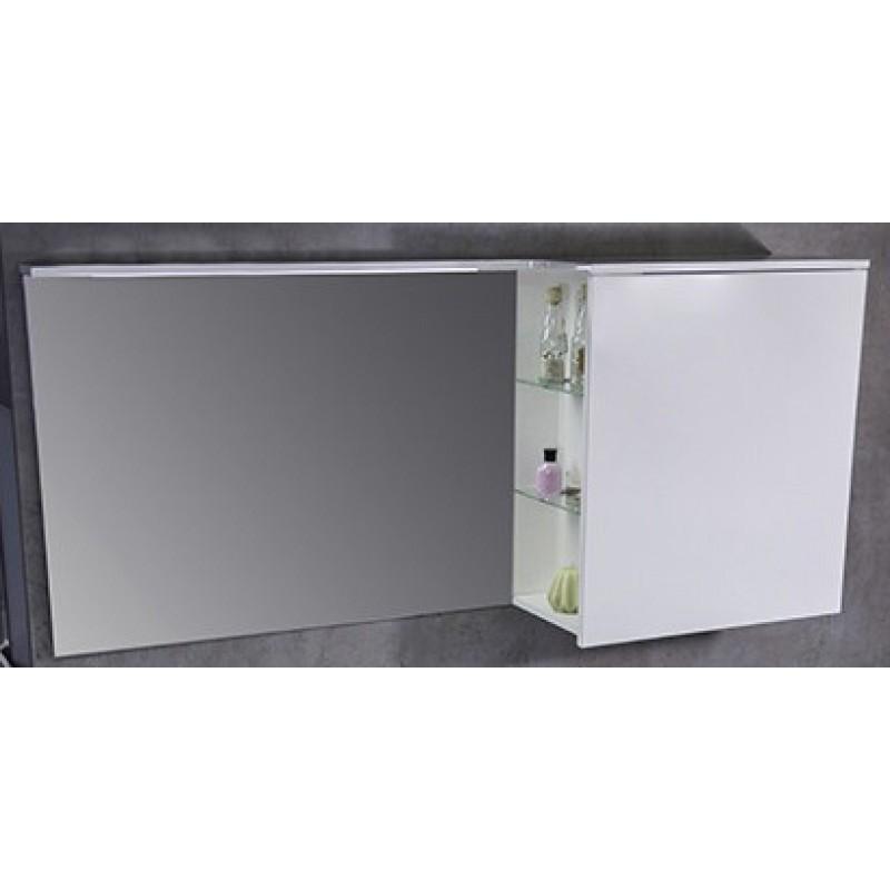 Зеркальный шкафчик Vivara левый 1250 мм под заказ