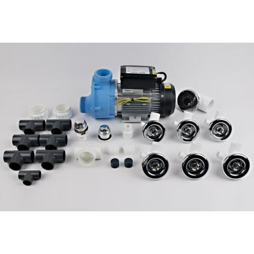 Гидромассажная система Тритон 1.5 кВт с пневмокнопкой