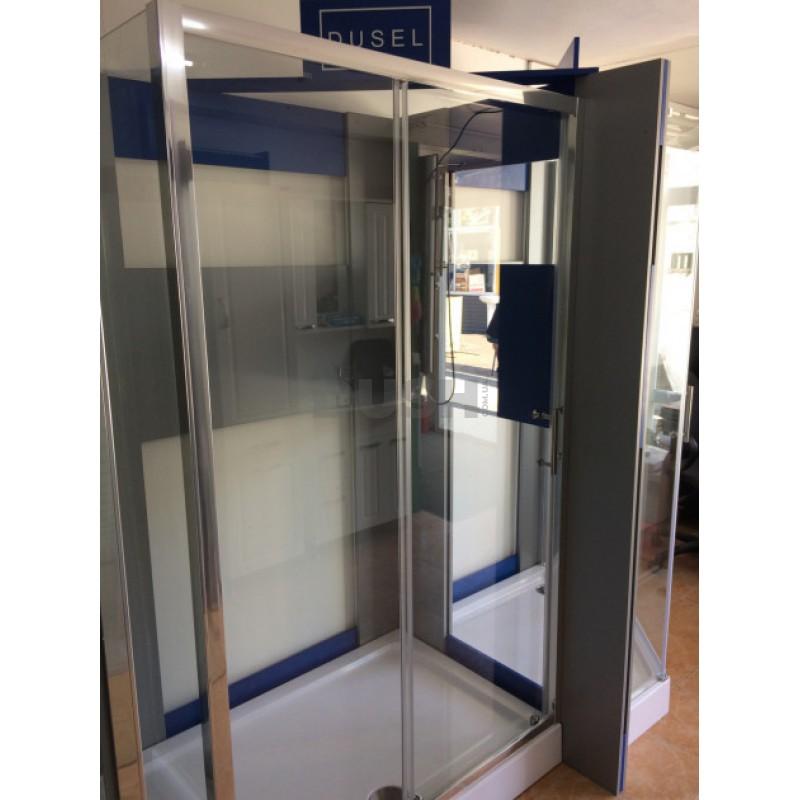 Душевая кабина Dusel А-515, 1200х800х1900, стекло прозрачное