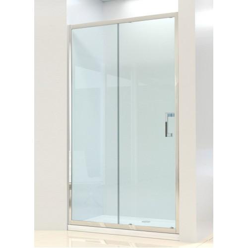 Душевая дверь Dusel FA512 1400х1900 стекло прозрачное