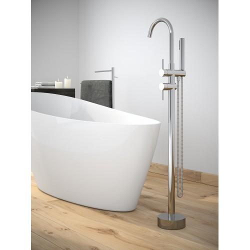 Змішувач для ванни Besco ILLUSION (хром)