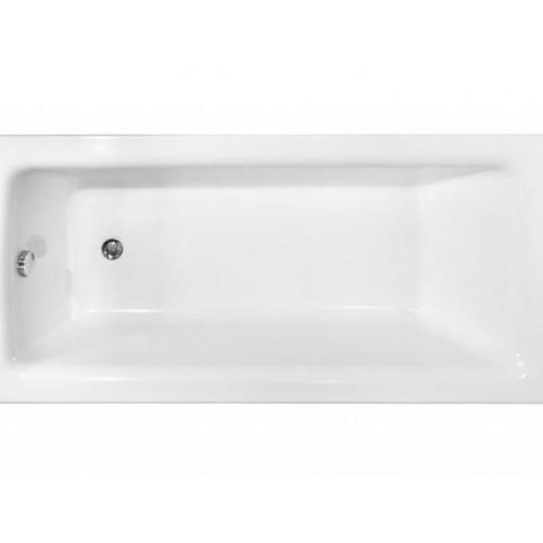Besco Ванна TALIA 140х70 акрилова БЕЗ панелі, без ніжок, без ручок