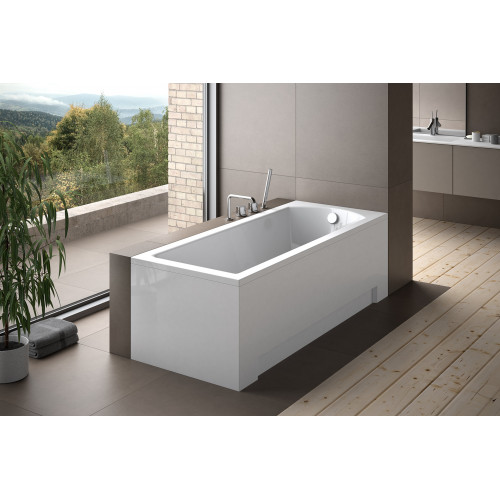 Besco Ванна SHEA 160х70 акриловая, без панели, без ножек
