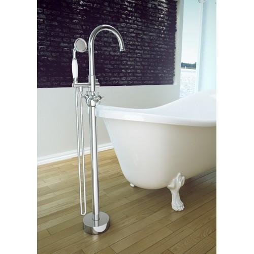 Змішувач для ванни Besco RETRO I (хром)
