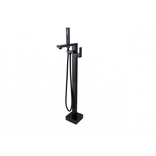 Змішувач для ванни Besco VARIUM (чорний мат)