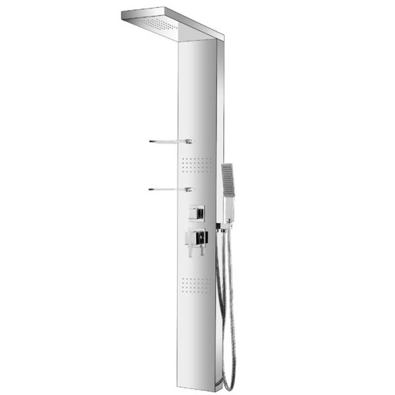 Гидромассажная панель Dusel DU8003-00 хром