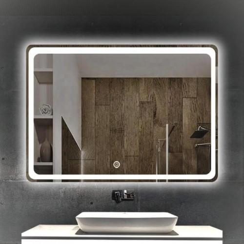 Зеркало Dusel DE-M3051 65х80 сенсорный включатель+подогрев