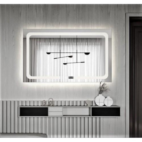 Зеркало Dusel DE-M3001 65х80 сенсорный включатель + подогрев