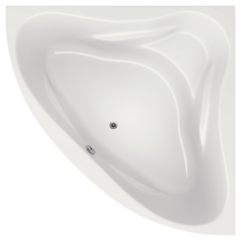 Ванна Bliss Riviera 140х140 (панель + каркас) Угловая