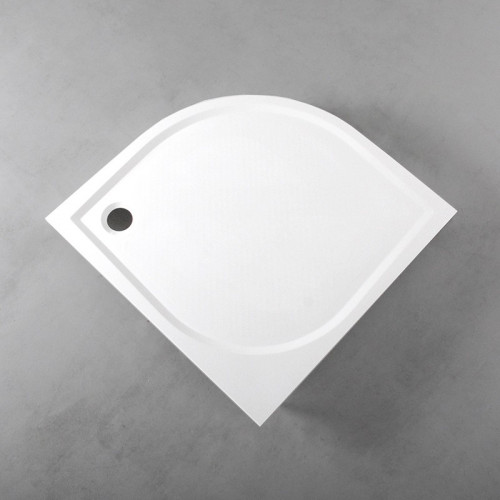 Душовий піддон Fancy Marble напівкруглий, 1000х1000 R550