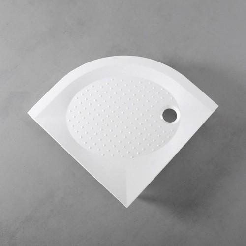 Душовий піддон Fancy Marble напівкруглий, 900х900 R550